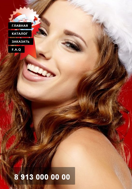 landing page для новогодней распродажи