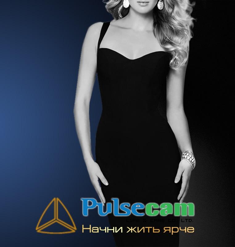 Pulsecam - разработка сайта франшизы